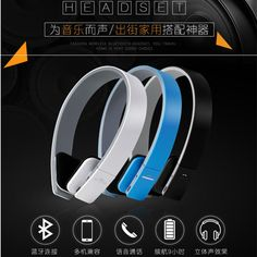 BQ-618 Wireless Bluetooth V4.1  EDR Headset Support Handsfree Earphone with Intelligent Voice Navigation for Cellphones Tablet