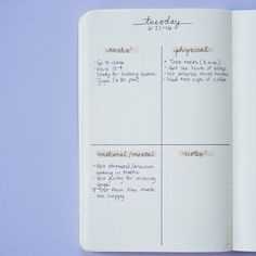 Here's How To Use A Bullet Journal For Better Mental Health