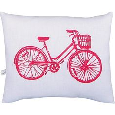 I pinned this Bike Pillow from the Finishing Touch event at Joss and Main!