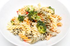 vegansk kremet pasta oppskrift