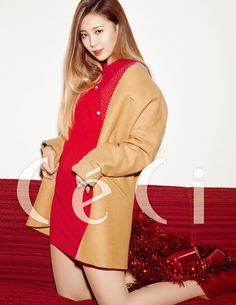 Girl's Day Yura - Ceci Magazine December Issue '15 - Korean Magazine Lovers
