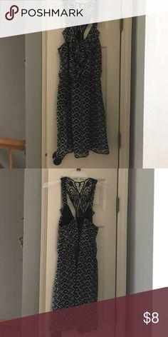 Black dress with Lace back Black Dress with Lace Back and front pockets  Worn once Speechless Dresses Midi