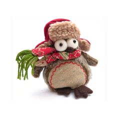 Quirky Festive Christmas Owl