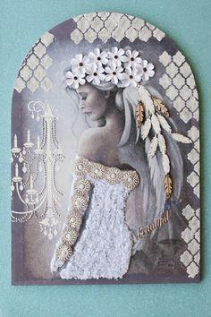Πίνακας με #decofoam της κας.Ελένης Γεωργίου  Δημιουργική ομάδα Μορφές