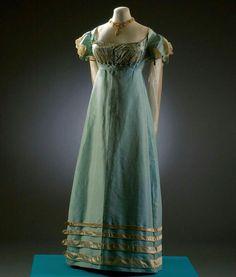 Evening dress, ca. 1810s Fashion Museum, Bath