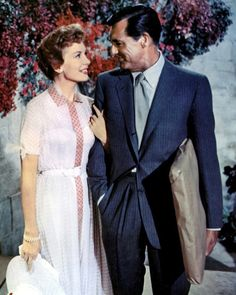 It's simply divoon. / Deborah Kerr and Cary Grant in An Affair to...