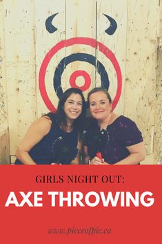 Looking for a fun girls night out? date night? or group outing? Axe throwing in Montreal and Laval is a fun and easy activity for all ages.