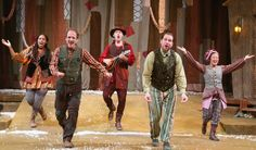 A Year with Frog & Toad. Chicago Children's Theatre. Photo credit Charles Osgood