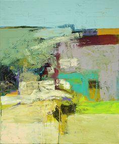 Bob Hunt.   Passage >Acrylic on Canvas, 36 X 30