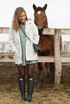 annalaurakummer, anna laura kummer, outfit, fashion, winter look, hunter boots…