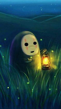 Kawaii & Artistic rendition Spirited Away - Wow, so beautiful & cute art. Totoro, Studio Ghibli Art, Studio Ghibli Movies, Hayao Miyazaki, Personajes Studio Ghibli, Manga Anime, Anime Art, Chihiro Y Haku, Howls Moving Castle