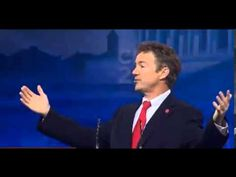 """Video: At the opening of CPAC 2013, Senator Rand Paul (R-KY) picked up where he left off in his 13 hour filibuster last week.  Paul took off the gloves and went after Barack Obama on indefinite detention, defending the Constitution, and unlawfully killing American citizens.  He also spoke on debt and foolish and frivolous spending and when he touched on foreign aid he said, """"I SAY NOT ONE PENNY MORE TO COUNTRIES THAT ARE BURNING OUR FLAG."""" [...] [03-15-13]  ***I STAND WITH RAND‼‼‼***"""