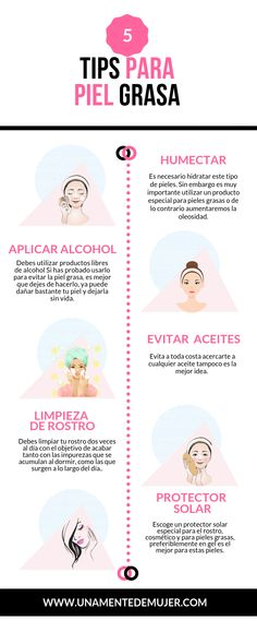 5 Tips + Maquillaje para la piel grasa Durante he sufrido con mi piel . 5 Tips + Makeup for oily skin For years I have suffered with my oily skin, the makeup falls apart faster, I always wa Tips For Oily Skin, Oily Skin Care, Skin Care Tips, Skin Tips, Dry Skin, Pixi Beauty, Beauty Skin, 10 Step Korean Skin Care, Beauty Care