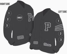 Shop now for your custom letterman jacket or varsity sweater. Custom Letterman Jacket, Varsity Sweater, Custom Patches, Preppy Style, Custom Clothes, Canada Goose Jackets, Motorcycle Jacket, Shop Now, Basketball