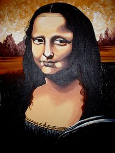 Mona by Cherie Roe Dirksen Mona Lisa Smile, South African Artists, Many Faces, She Was Beautiful, Woman Painting, Art Portfolio, Her Smile, Contemporary Art, Abstract Art
