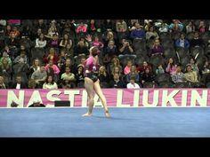 Natalie Wojcik - Floor Exercise - 2016 Nastia Liukin Cup - YouTube