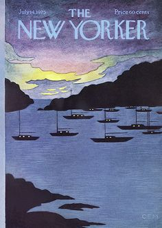 The New Yorker is.well it's the New Yorker. New Yorker. July In the trade since Currently all Salinger is sold out, but most Updike is still available. The New Yorker, New Yorker Covers, Vintage Illustration Art, Magazine Illustration, Book And Magazine, Magazine Art, Magazine Covers, Old Magazines, Summer Art