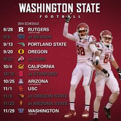 2014 Pac-12 Football Schedule Released: Analyzing the Washington State Cougars' Lot - All Coug'd Up