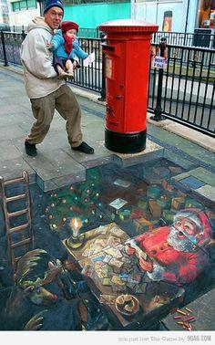 Underground Santa