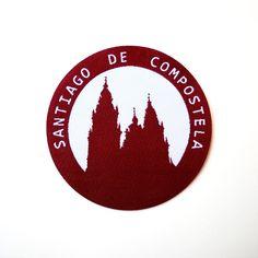 (http://www.spanishdoor.com/camino-de-santiago-de-compostela-cathedral-pilgrim-cloth-patch-souvenir/)
