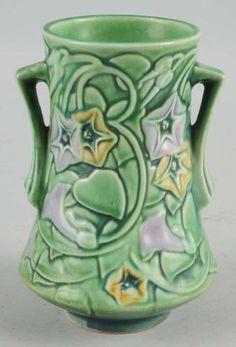 Roseville Pottery Price Guide: Roseville Morning Glory Vase