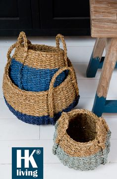 Paint on baskets
