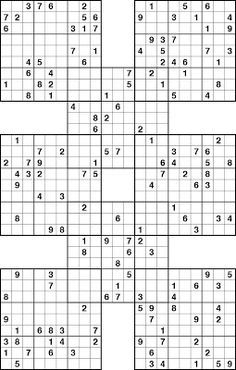 photo relating to Sudoku Printable Hard called PRINTABLE SUDOKU: PRINTABLE SUDOKU - Complicated ALL Over MY