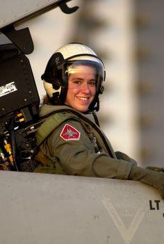 Female Pilot.
