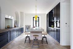 French Oak Herringbone, featured in Beautiful Irish Interiors Spring/Summer 2016.: