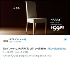 Internet Is Laughing Out Loud At These 50+ Hilarious Reactions To The Royal Wedding