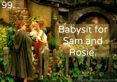 YES YES YES!!! I'M NOT KIDDING WHEN I SAY THAT I'M ABOUT TO FAINT! YES, I WILL BABYSIT ELEANOR AND FRODO!