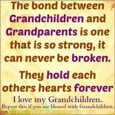 Grandchildren & Grandparents