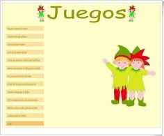 """Juegos complementarios del proyecto didáctico """"Duendes Mágicos"""" para Educación Infantil de 5 años, de Editorial Algaida, en la web http://primerodecarlos.com."""