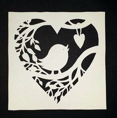 Made by me - Papercut template from Paper Panda