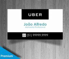 23 Melhores Imagens De Cartão Visita Uber Uber Visita E