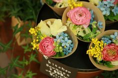 Floral, Flowers, Food, Deco, Essen, Decor, Meals, Deko, Decorating