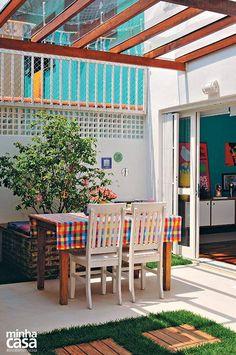 13 espaços verdes com pergolado | Minha Casa