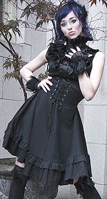 Retroscope Fashions Gotic Lolita corset skirt