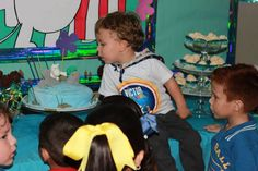Birthday boy Moomin Party Dessert Table