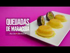 Queijadas de Maracujá | SaborIntenso.com