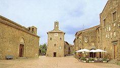 The pretty village of Sovana, originally Etruscan.