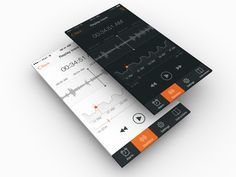 Sleep tracker iphone ui ramotion