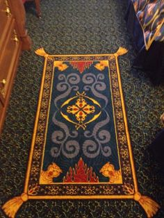 Aladdin Carpet- I'd have to find the perfect place for this