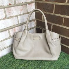 Kate Spade Berkshire Purse NWT Lovely soft purse from Kate spade. Great taupe color that's been very in and stylish. Brand new! Closet Rules  No trades  No PayPal  No Harassment  Offers welcome  Bundles welcome  kate spade Bags