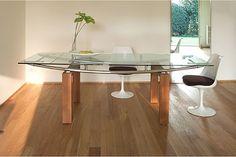 rectangular contemporary glass dinning table | Rectangular Modern Glass Dining Tables | Home Design Ideas Online