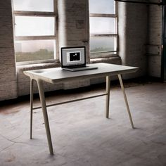 *product design, furniture, home office, desks, wood* - Maya desk by Dare Studio