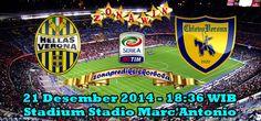 Prediksi Hellas Verona vs Chievo, Pertandingan ajang laga liga Italia pekan 16 akan mempertemukan Hellas Verona yang akan menghadapi Chievo