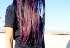 OUTFIT DEL DÍA: My purple hair, Mi cabello morado