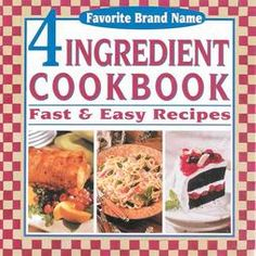 4 Ingredient Cookbook