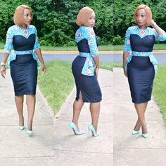 Checkout These Classy And Up-to-Date Ankara Styles; You Would Be Glad You Did - Wedding Digest Naija African Print Dresses, African Print Fashion, Africa Fashion, African Fashion Dresses, African Attire, African Wear, African Women, African Dress, Fashion Prints